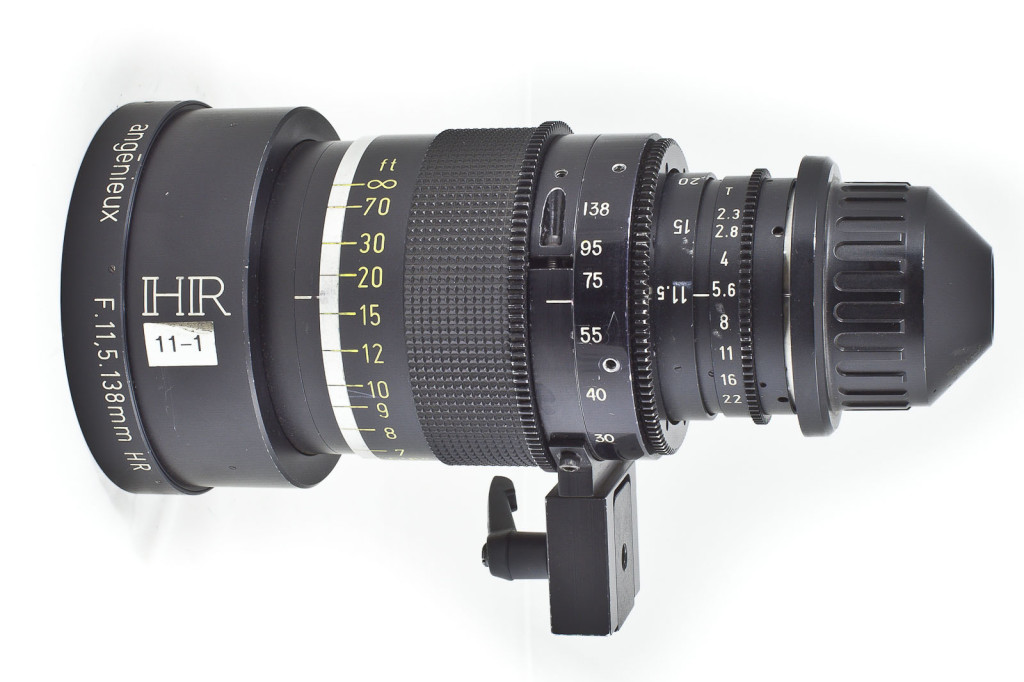 Angenieux 11.5-138mm T2.3 Zoom Lens (S16)