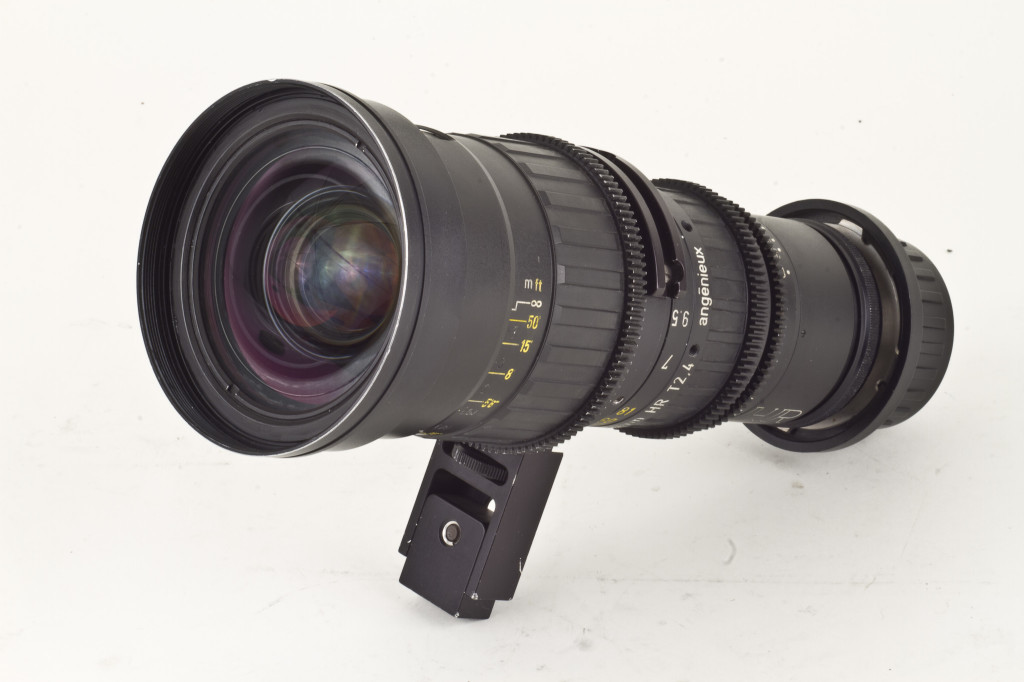 7-81mm T2.4 Angenieux HR Zoom