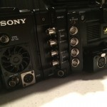 Sony F55 audio inputs