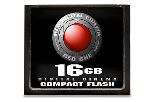 RED Compact Flash Memory