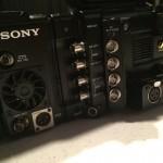 Sony F55 audio inputs